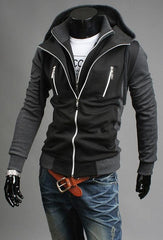 2017 Fashion Style Slim Design Men's Hoddies Sweatshirts Casual Tracksuit Men Jacket Sportswear