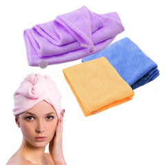 #Cu3 Magic Hair-drying Ponytail Holder Cap for Lady Dehumidification Shower Caps