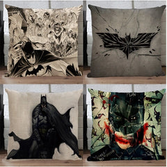 #1048 Justice Avengers Batman pillow cotton&line pillowcase by sofa cushions pillow without filling no filling boy room ornament