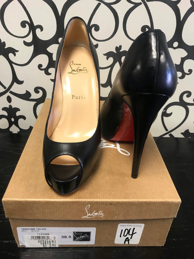 CONSIGNMENT: Christian Louboutin Vendome 120