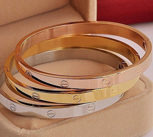 Love Stainless Steel Bangle