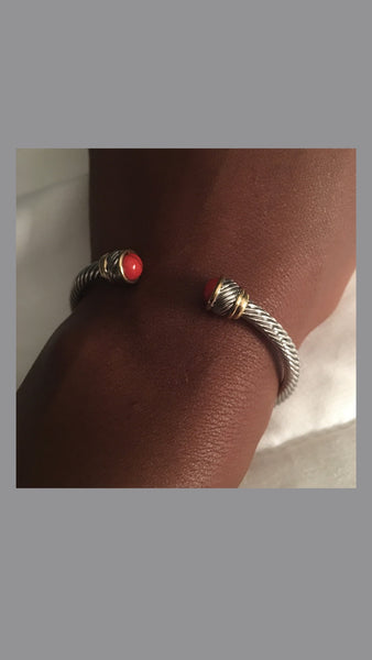 Kendall Cable Red Bracelet