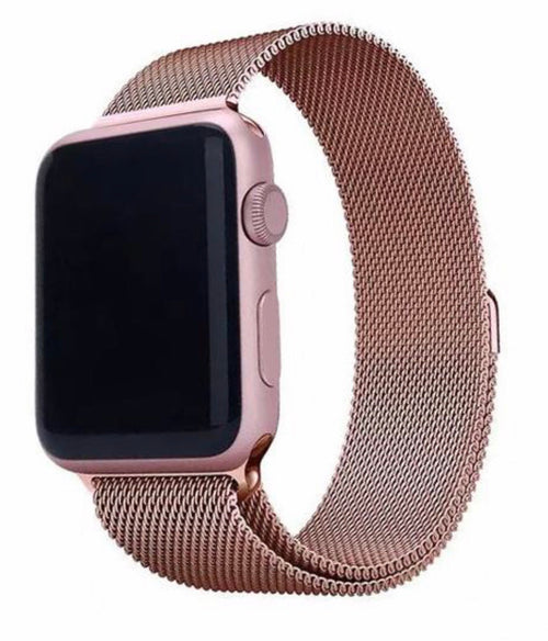 Stainless Steel Mesh Apple Watch Band