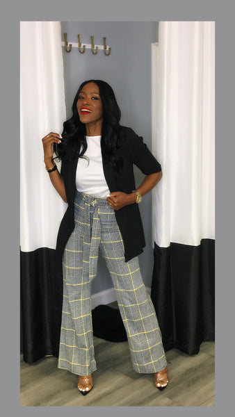 Petra Plaid Highwaist Pants