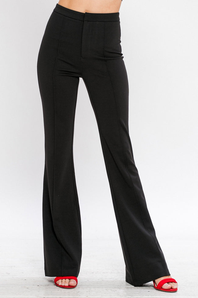 Heather High Waist Pants:FINAL SALE