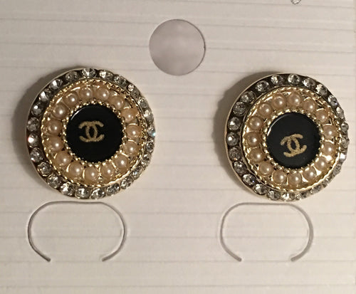 CC Round Mix Earrings
