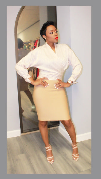 Amber Bandage Highwaist Skirt