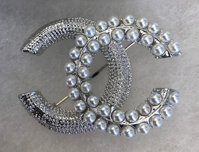 Alexis Pearl Mix Brooch