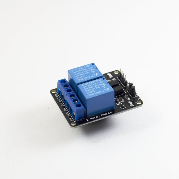 2 Channel 5V Relay Module with Octocoupler - Bageera - The Resource Hub
