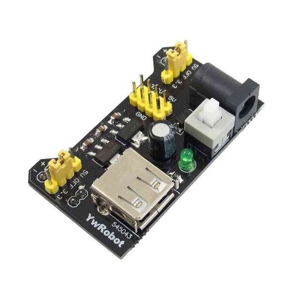 Breadboard Power Supply 3.3/5V MB102 - Bageera - The Resource Hub