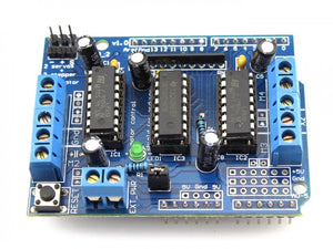 Arduino Motor Driver Shield L293D - Bageera - The Resource Hub