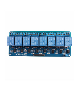 8 Channel Relay Control Panel PLC Relay 5V Module With Optocoupler  - Bageera - The Resource Hub