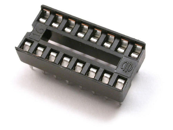 16 Pin IC Base (DIP) - Bageera - The Resource Hub