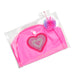 Neon Heart Swim Cap