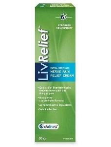 LivRelief Nerve Pain Relief Cream 50g
