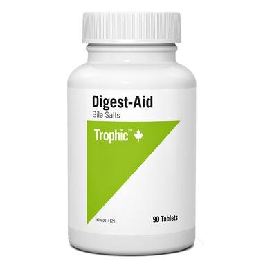 Trophic Digest-Aid Bile Salts (90 Tabs)