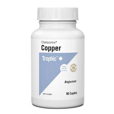 Trophic Copper Chelazome (90 Caplets)