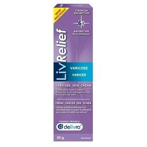 LivRelief Varicose Vein Cream 50g