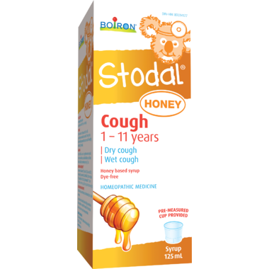 Boiron Children's Stodal® Honey Cough Syrup 125ml