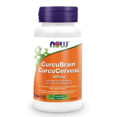 NOW Foods CurcuBrain - 400mg (50 VegCaps)