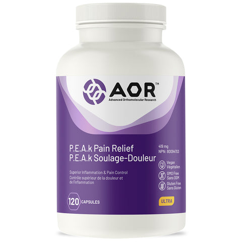 AOR P.E.A.k Pain Relief (120 Caps)
