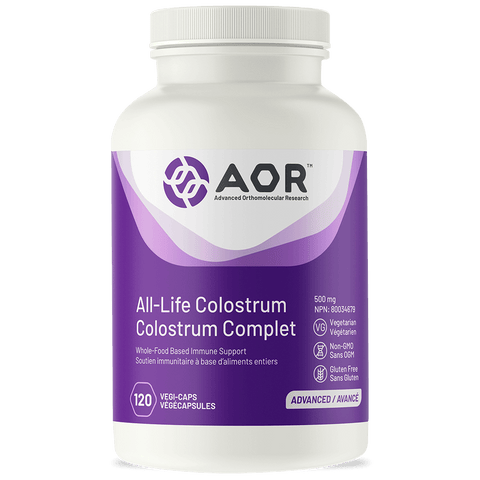 AOR All-Life Colostrum - Lactose free (120 Veg Caps)