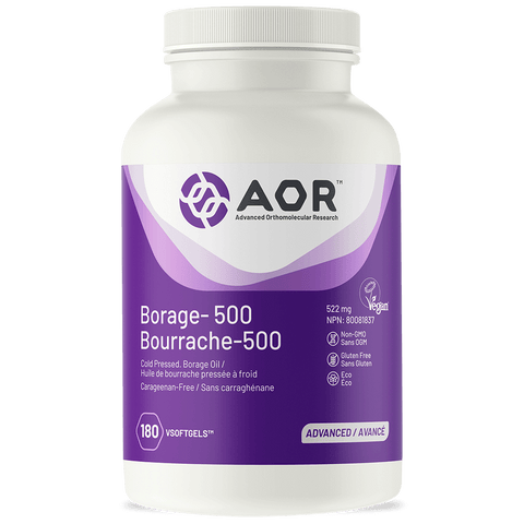 AOR Borage 500 (180 VSoftgels)