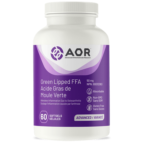 AOR Green Lipped FFA (60 Softgels)