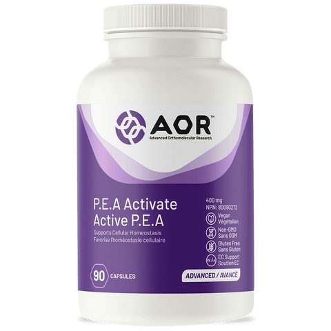 AOR P.E.A. Activate 400mg (90 Caps)