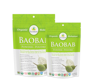 Ecoideas Organic Baobab Fruit Pulp Powder