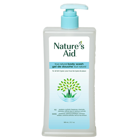 Nature's Aid True Natural Body Wash (360ml)
