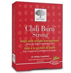 New Nordic Chili Burn Strong (60 tabs)