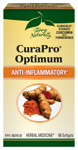 Terry Naturally CuraPro Optimum 750 (60 softgels)