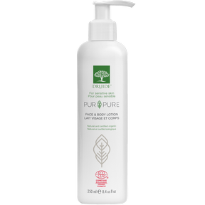 Druide Pur & Pure Organic Face & Body Lotion (Unscented) 250ml
