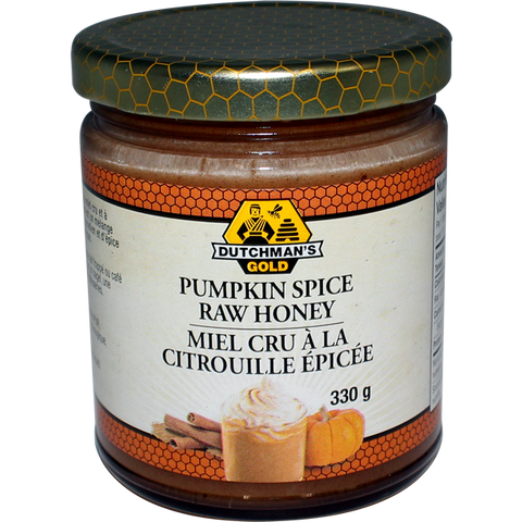 Dutchman's Gold Pumpkin Spice Raw Honey 330g