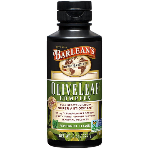 Barlean's Olive Leaf Complex Peppermint Flavour