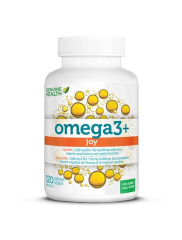 Genuine Health Omega3+ Joy