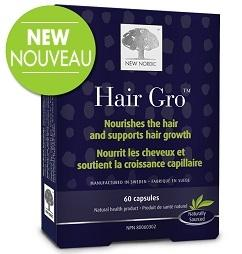 New Nordic Hair Gro (60 capsules)
