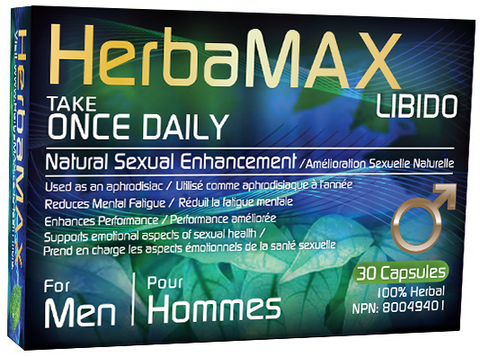 HerbaMAX for Men Once A Day (30 Capsules)
