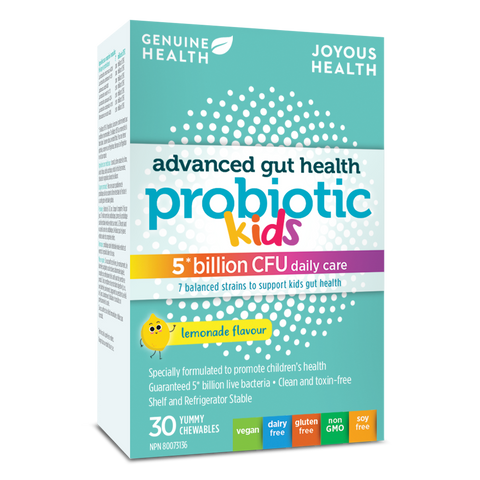 Genuine Health Advanced Gut Health Probiotic Kids (30 Chewables)