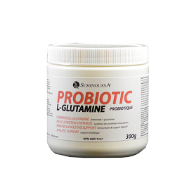 Schinoussa Fermented L-Glutamine with Probiotics (300g powder)