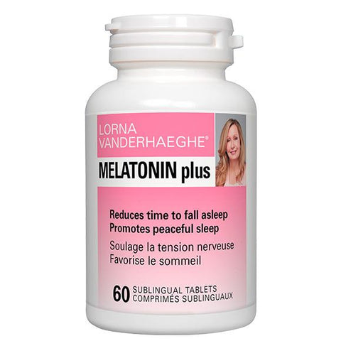 Lorna Vanderhaeghe MELATONIN plus (60 Sublingual Tablets)