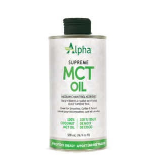 Alpha Supreme MCT Coconut Oil