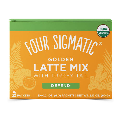 Four Sigmatic Golden Latte with Shiitake & Turmeric (10 Packets)