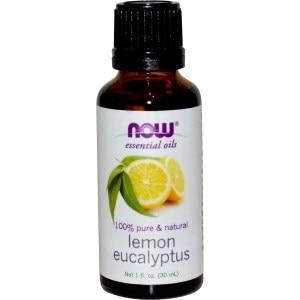 NOW Foods Lemon & Eucalyptus Oil Blend 30ml