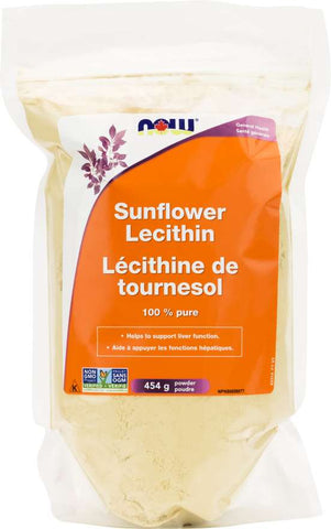 NOW Foods Sunflower Lecithin 454g Powder