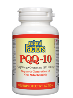 Natural Factors PPQ-10 - PQQ 20mg · Coenzyme Q10 200mg (60 Softgels)
