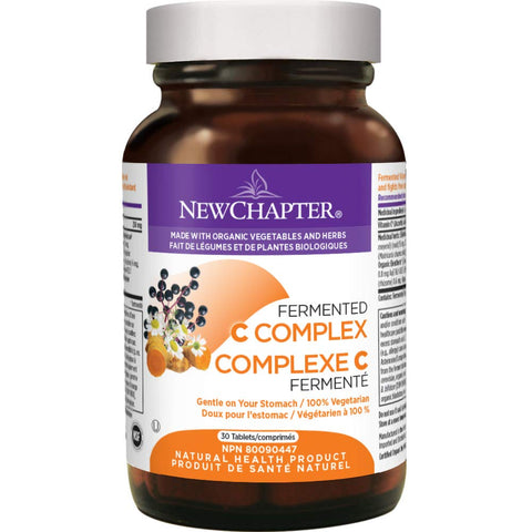 New Chapter Fermented C Complex 250 mg (30 Tablets)