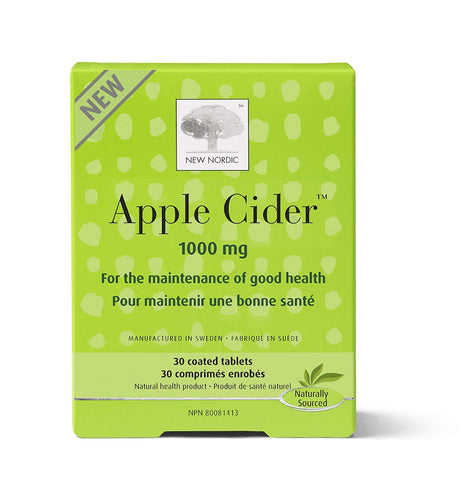 New Nordic Apple Cider 1000mg (30 Tablets)