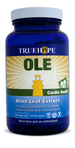 Truehope OLE (Olive Leaf Extract - 180 VegiCaps)